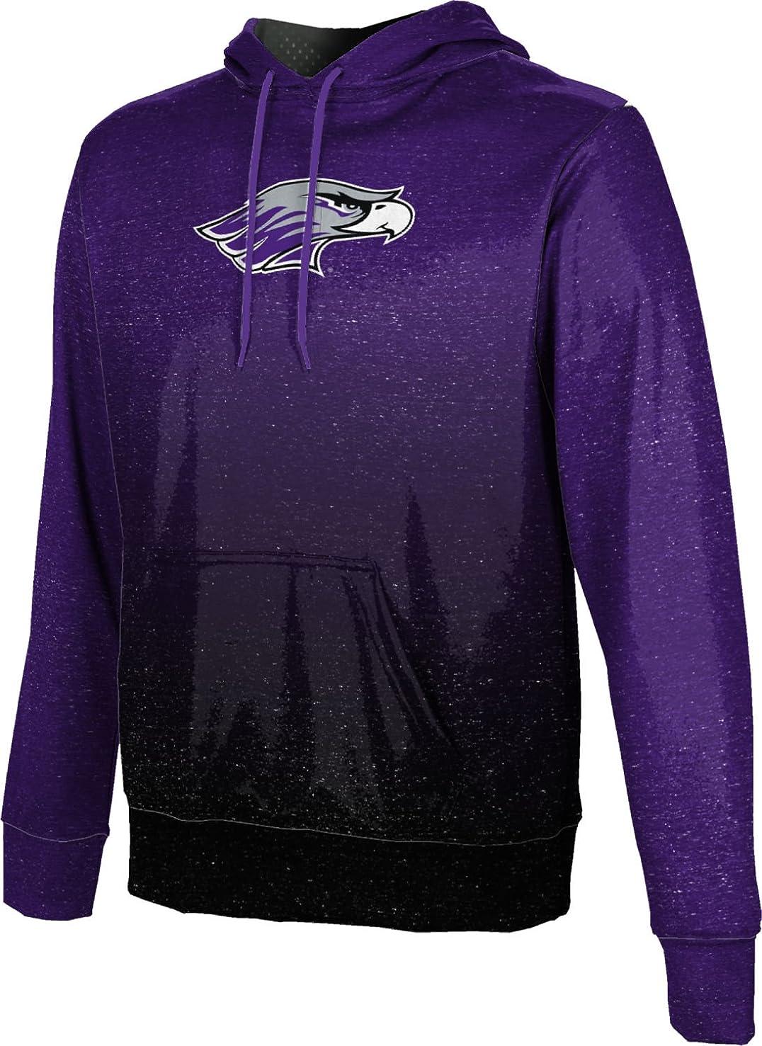 ProSphere University of Wisconsin-Whitewater College Boys' Pullover Hoodie, School Spirit Sweatshirt (Ombre)