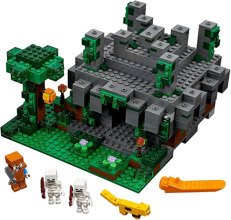 LEGO Minecraft 598-Piece The Jungle Temple Construction Set 21132