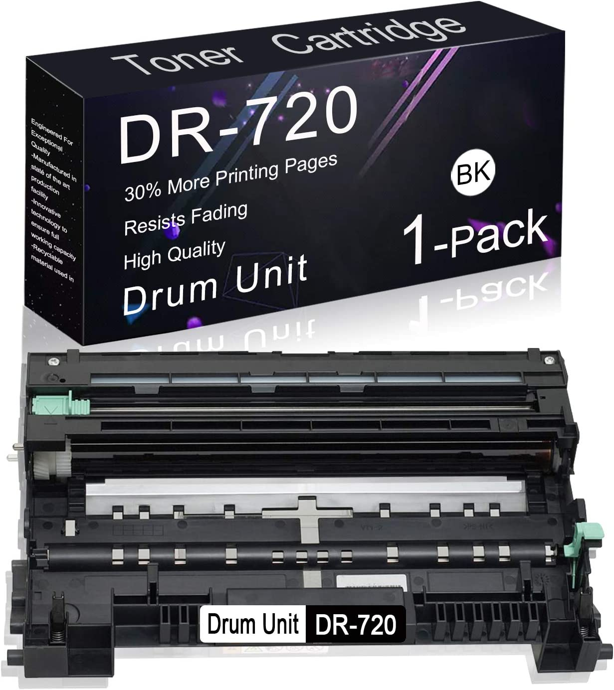 Compatible Drum Cartridge 1 Award Sale special price Pack for Replacement Black DR-720 Br