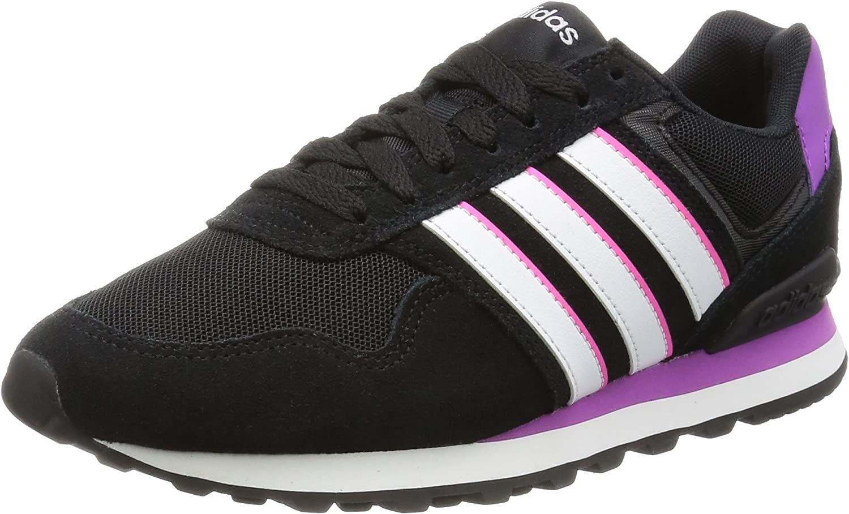 adidas Neo 10K W, Women's Low-Top Sneakers, Black (Negbas/Ftwbla ...