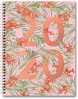 Orange Circle Studio 2020 Extra Large Spiral Planner, Floral Expressions