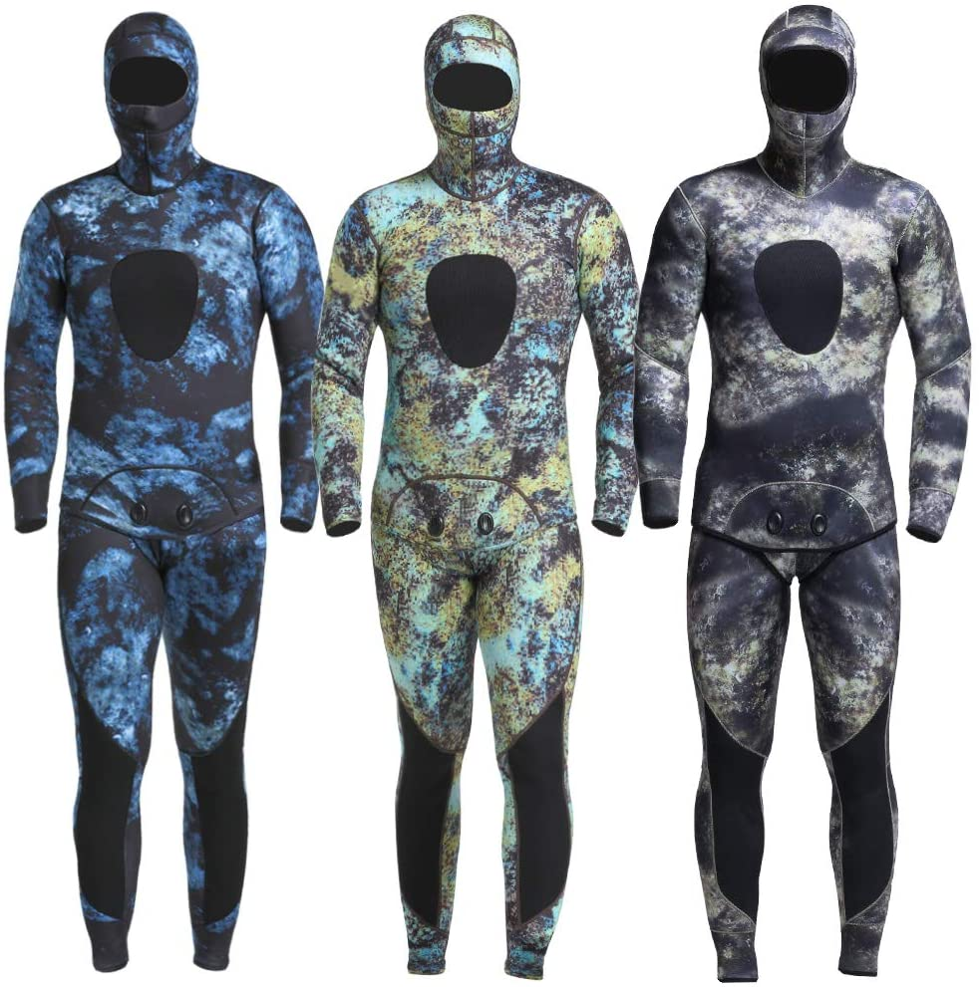 MYLEDI Neoprene 上質 3mm Super Stretch Camouflage Freedi for 祝開店大放出セール開催中 Fullsuit