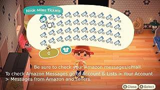 Animal Crossing: New Horizons 200 Nook Miles Tickets & 1.9M Bells Bundle