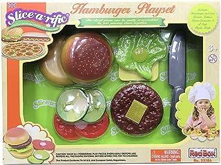 Red Box Hamburger Playset, Multi-Colour, 22186