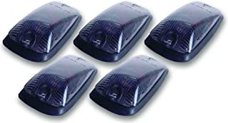 Pacer Performance 20-220S Hi-Five Smoke Chevy Style Cab Roof Light Kit, (Pack of 5)
