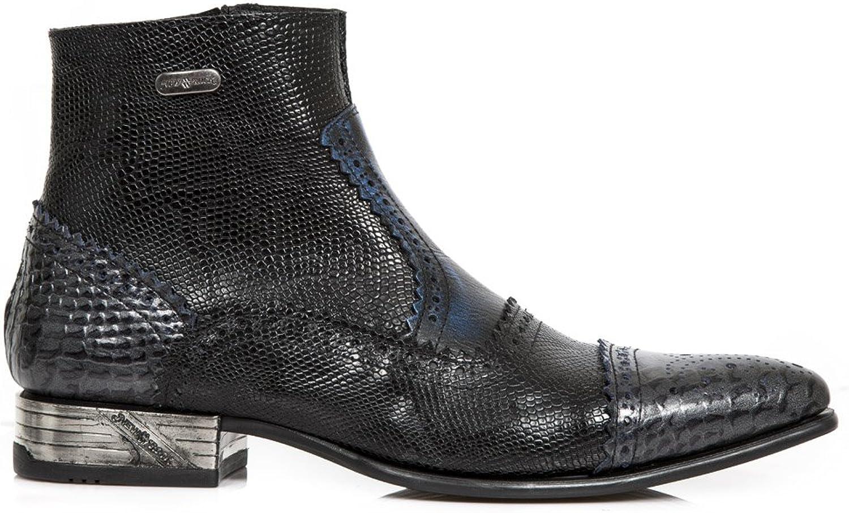 New Rock NR M.NW133 M.NW133 M.NW133 S5 svart, blå Boots, VIP, M än  Din tillfredsställelse är vårt mål