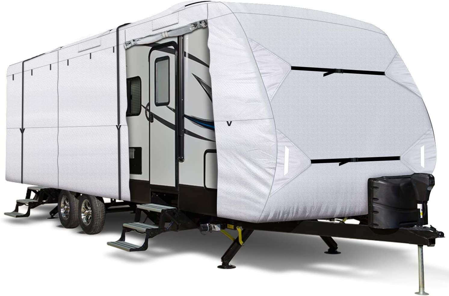 Leader Accessories 150D 27'-30' Finally resale start L Travel A New item RV Cover with Trailer