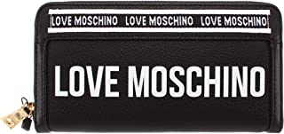 Love Moschino Womens Zip Around Wallet, Black - JC5608PP1ALJ1