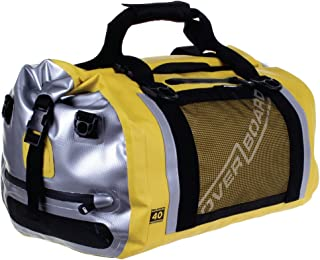 Overboard Pro Sports Duffel Bag Pro Sports Waterproof Duffel Bag, 40 Litre Capacity, Yellow