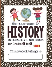 Social Studies or History Interactive Notebook - Grades 1 to 3: The Bigger Composition Notebook (Bigger Lined Interactive Notebook)