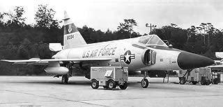 Home Comforts 526th Fighter-Interceptor Squadron Convair F-102 Delta Dagger 56-1234 Vivid Imagery Laminated Poster Print 24 x 36