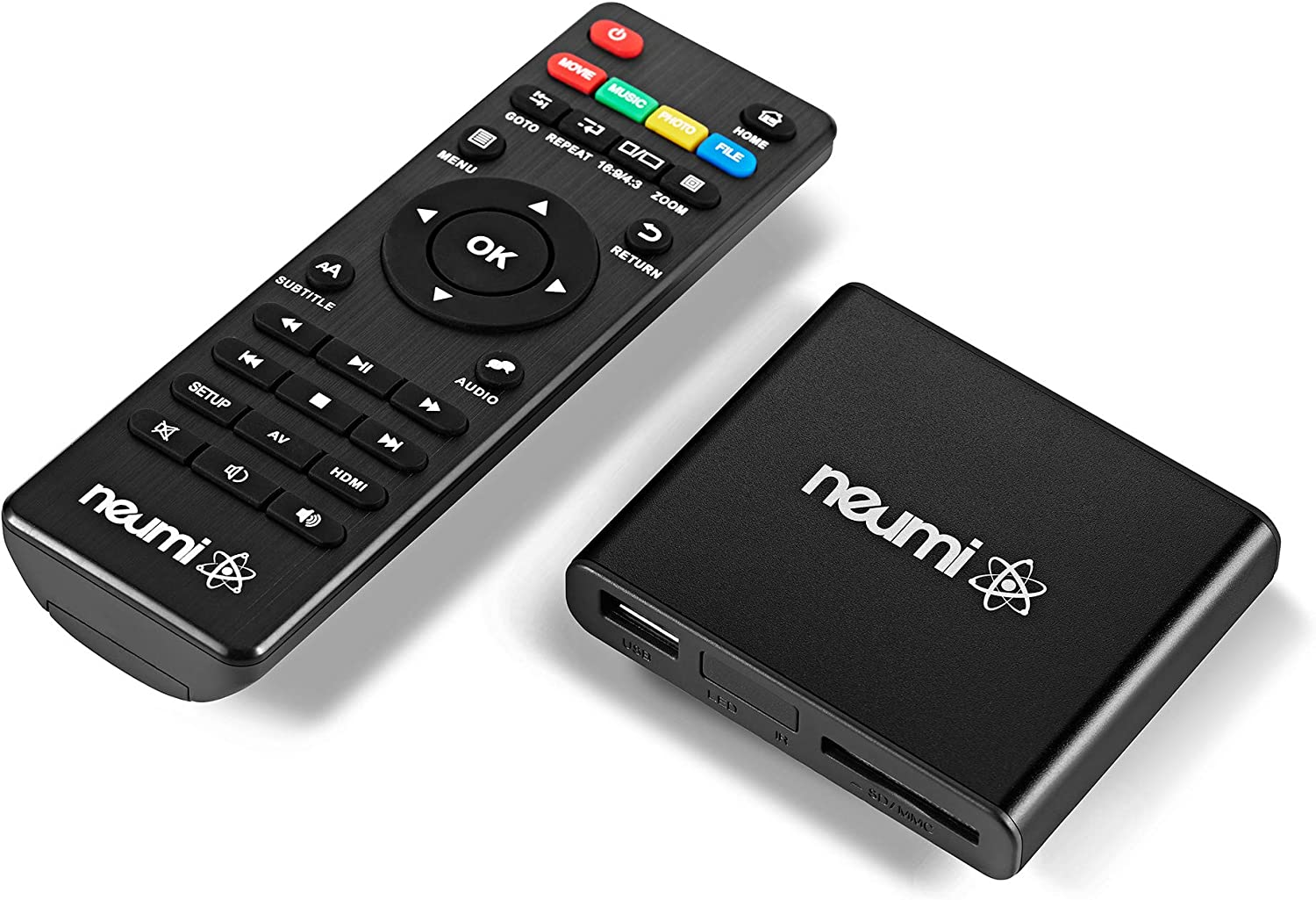 NEUMI Atom 1080P Full-HD Digital Media and Manufacturer direct delivery Finally popular brand Player for USB Drives