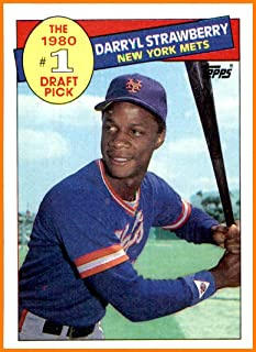 1985 Topps #278 Darryl Strawberry NEW YORK METS Vintage (NM-MT+ or better, please see scans for centering)