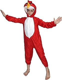 Red Bird Costume -Red,for Boys & Girls