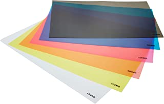 Amazon Brand - Solimo PVC Fridge Multipurpose Mat, Set of 6, Multicolor