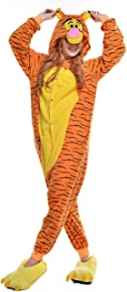 Onesies Adult Unisex Animal Cosplay Pajamas Halloween Costumes Xmas