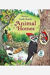Look Inside Animal Homes Board book