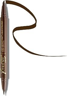 Xtreme Lashes Lash Densifying Liquid Eyeliner, Dark Brown – Hypoallergenic & Dermatologist Tested – Eyelash Extension Compatible