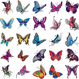 Qqinghan Kleurrijke Rainbow Expression Tattoo Sticker Face Hand Lovely Body Art Fake Tatoo Tijdelijk Waterdicht (Color : 10)