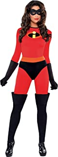 The Incredibles Mrs. Incredible Halloween Costume for Women, with Included Accessories