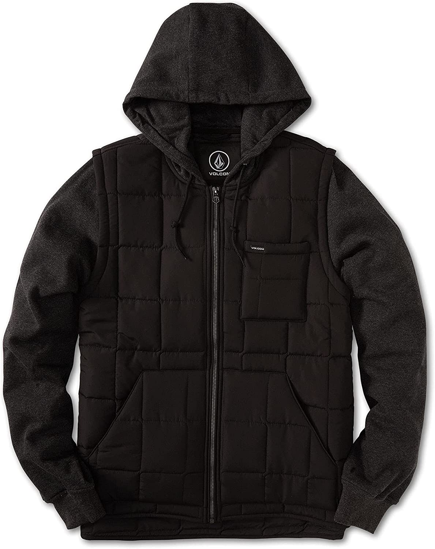 Volcom Men's September Hooded Puff Jacket