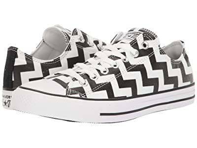 Converse Chuck Taylor All Star Glam Dunk Ox (White/Black/White) Women
