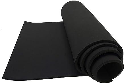 Neoprene Sponge Foam Rubber Sheet Roll - 15in x 60in (1/4in Thick)