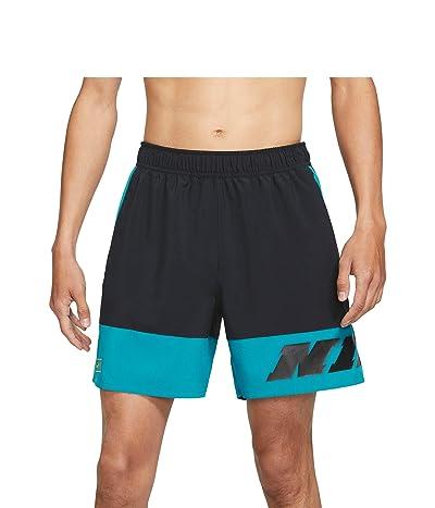Nike Shorts 1 Sc (Black/Green Abyss/Mean Green) Men