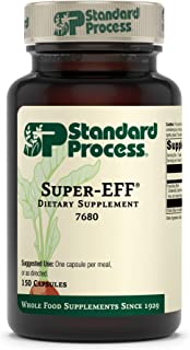 Standard Process Super-EFF - Whole Food Energy with Flaxseed Oil and Spanish Moss - 150 Capsules