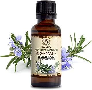 Aceite Esencial de Romero 30ml - Rosmarinus Officinalis - España - 100% Puro y Natural - Rosemary Essential Oil - Buen Humor - Relájese - Mejor para Aromaterapia - SPA - Cuidado Personal - Difusor
