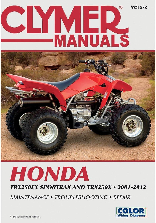 Clymer Honda TRX250EX Sportrax & TRX 250X (20012012)