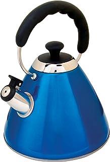 Mr. Coffee Harleton Tea Kettle, 2-Quart, Blue