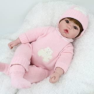 Kaydora Reborn Baby Doll 22 Inch Reborn Toddler Adorable Girl Doll, Named Ellen