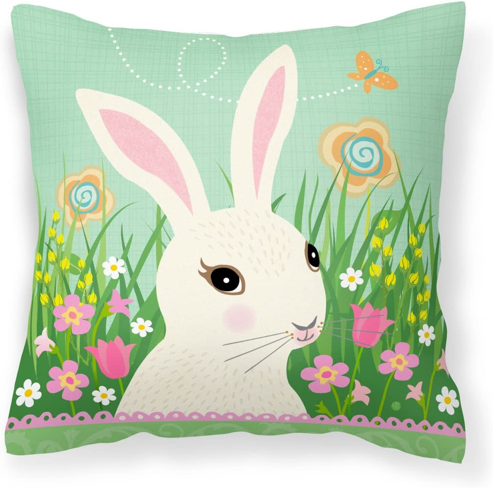 Caroline's Treasures VHA3023PW1818 Opening large release sale Easter De Fabric Bunny Rabbit Free shipping