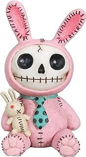 Furrybones Pink Bun Bun Signature Skeleton in Bunny Costume with Bunny Doll