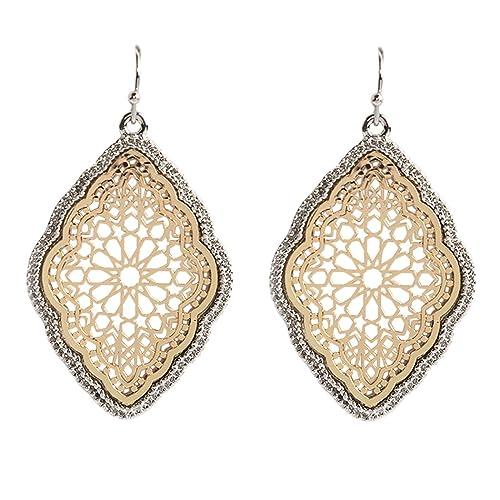 f5c775e95a9 Moroccan Earrings: Amazon.com