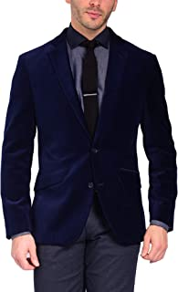 Sponsored Ad - Craft & Soul Men's Slim Fit Stretch Velvet Blazer Jacket Sport Coat
