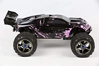SummitLink Compatible Custom Body Muddy Pink Over Black Replacement for 1/10 Scale RC Car or Truck (Truck not Included) ER-BP-03