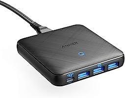 Anker PowerPort Atom III Slim 4 Çıkışlı 65W Power Delivery Gan Hızlı Şarj Cihazı, A2045