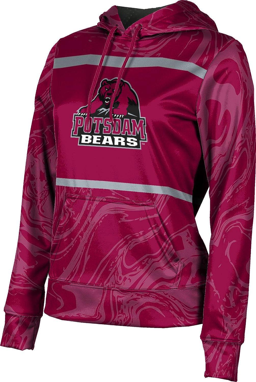 State University of New York at Potsdam Girls' Pullover Hoodie, School Spirit Sweatshirt (Ripple)