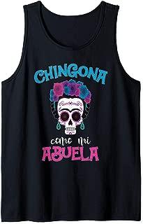 Chingona como mi Abuela Funny Latin Grandma Abuela Tank Top