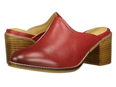 Hush Puppies Hannah Mule (Red Leather) Women