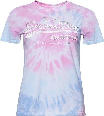 Superdry VL Tie_Dye Entry Tee T-Shirt Femme