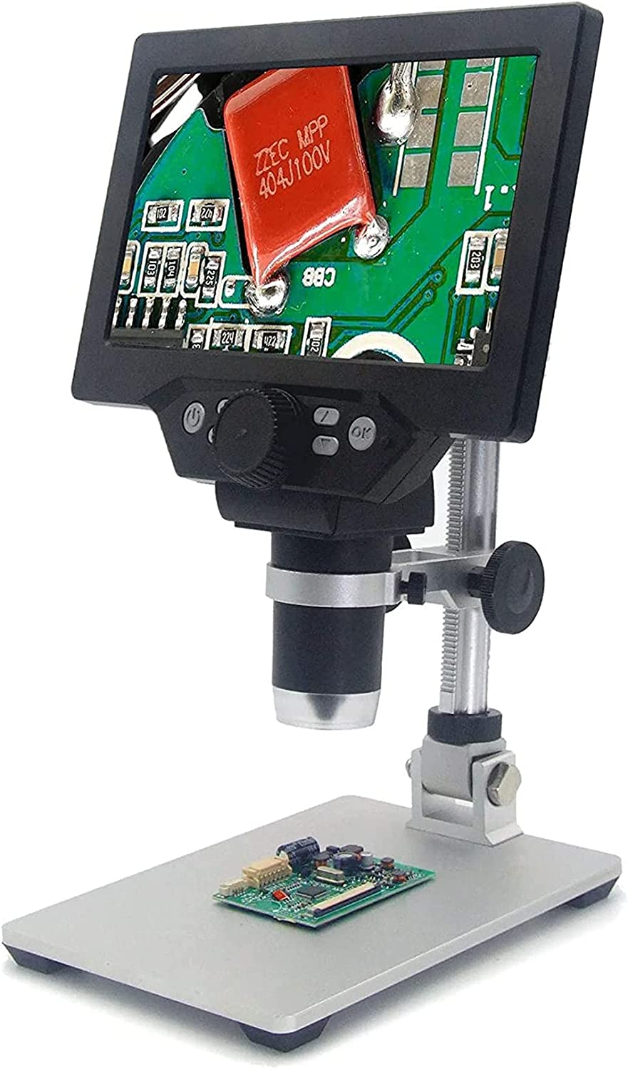 Seattle Mall 7 inch LCD Digital USB Microscope 32G 10-1200X with Card Max 80% OFF Magn TF