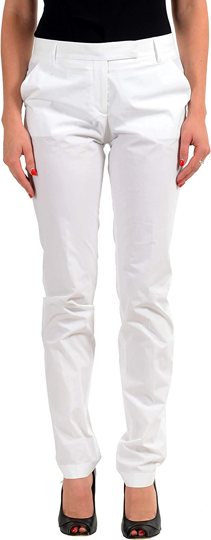 Viktor & Rolf White Women's Casual Pants Sz US S IT 40