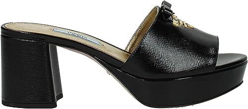 Prada Sandalen Damen - Lackleder (1XP888VERNICESTSAF) EU