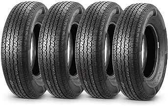 Set of 4 Radial DOT Trailer Tires 205/75R14 ST20575R14 8PR/Load Range D 105/101L