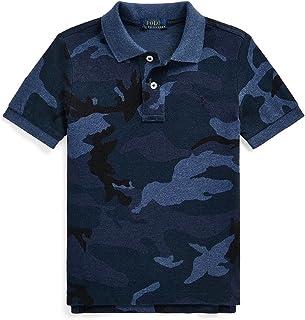 Polo Ralph Lauren Little Boys Camo Cotton Mesh Polo Shirt
