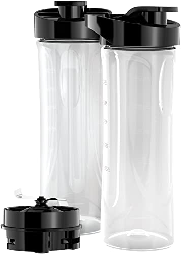 new arrival BLACK+DECKER PBJ2000 FusionBlade 20 Ounce BPA-Free popular Personal Blender Jars (2-Pack with new arrival Travel Lids) online sale