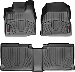 WeatherTech Custom Fit FloorLiner for Equinox/Terrain - 1st & 2nd Row (Black)